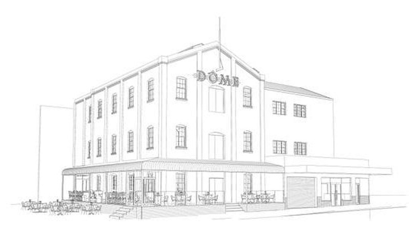 Artists impression - Dome Hotel, Katanning